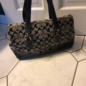 Coach Bags - Coach black purse excellent condition